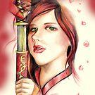 Katz Karma the Samurai by Lubna