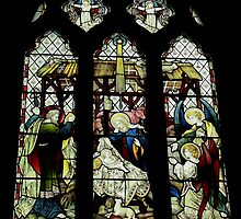 The Nativity, St Mary The Virgin, Newington by Dave Godden