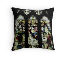 The Nativity, St Mary The Virgin, Newington Throw Pillow