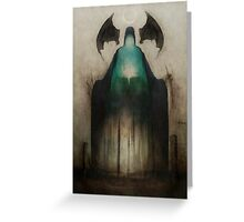 Dreamin in R'lyeh Greeting Card