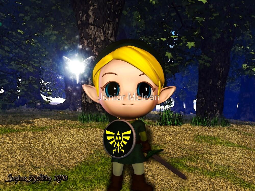 Hero of Legend: Legend of Zelda's Link   by Junior Mclean