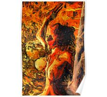 I Am Fire by Mary Bassett Poster