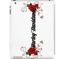 H-D Logo White iPad Case/Skin