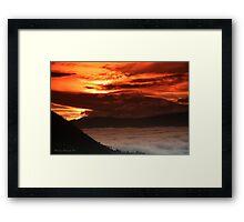 Andean Moods Framed Print