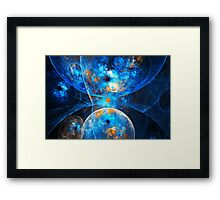 Bright Side of the Universe Framed Print