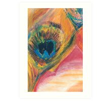 Peacock Feather for a Bodhisattva Art Print