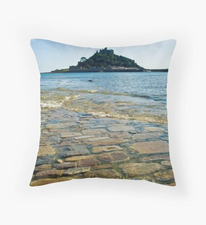 St Michaels Mount Throw Pillow