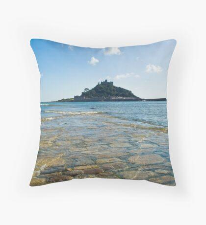 St Michaels Mount II Throw Pillow