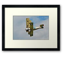 Sopwith triplane replica Framed Print