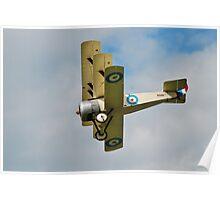 Sopwith triplane replica Poster