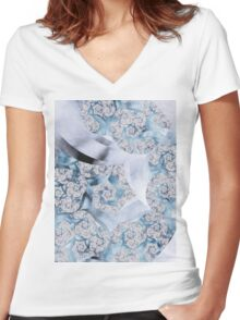 Imperfection Women's Fitted V-Neck T-Shirt