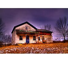 Used To be Home Sweet Home Photographic Print