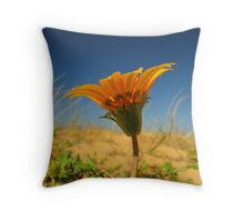 Flowers in the Dirt Throw Pillow