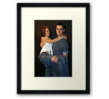 Stacey & Lawrence Framed Print