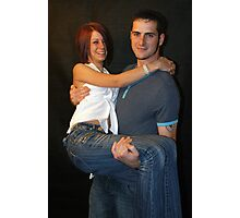Stacey & Lawrence Photographic Print