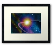 The Scope of Discovery Framed Print
