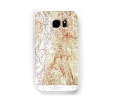 Massachusetts  USGS Historical Topo Map MA Northfield 351178 1977 25000 Samsung Galaxy Case/Skin