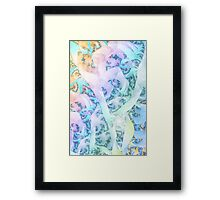 Blinded by Faith Framed Print