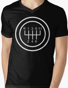 Number Inside The Circle Mens V-Neck T-Shirt