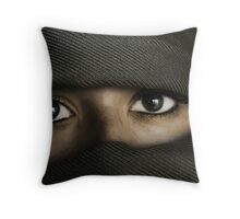 speaking without words Throw Pillow