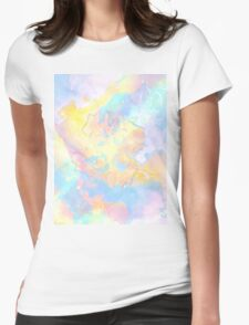 The Four Elements: Air Womens Fitted T-Shirt