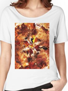 The Four Elements: Fire Women's Relaxed Fit T-Shirt
