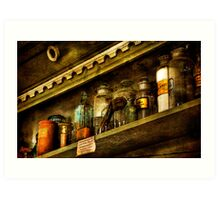The Olde Apothecary Shop Art Print