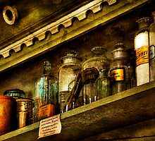 The Olde Apothecary Shop by Lois  Bryan