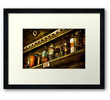 The Olde Apothecary Shop Framed Print