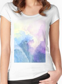 Cloud Age Symphony Women's Fitted Scoop T-Shirt