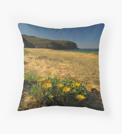 Turimetta in Bloom Throw Pillow