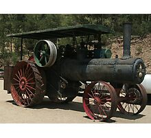Old Steam Engine Photographic Print