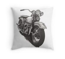 1948 Harley WL Throw Pillow