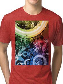 Rainbow Paintbrush Tri-blend T-Shirt