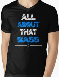 All About That Bass Mens V-Neck T-Shirt