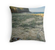 The Stone from Nowhere Throw Pillow