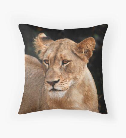 Looking gorgeous Throw Pillow