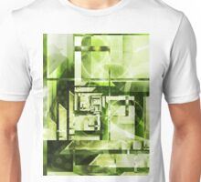 Lime Labyrinth Unisex T-Shirt