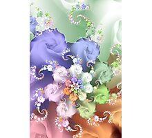 Pastel Rose Photographic Print
