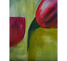 Tulips abstract Photographic Print