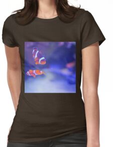 Marlin and Nemo Womens Fitted T-Shirt