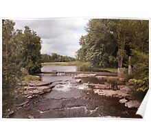 Salmon River, Ontario Poster