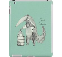 Beginning on your journey - Giant Anteater - Green iPad Case/Skin