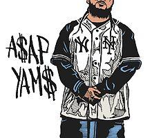 A$AP Yams by OG MUZUKA$HII