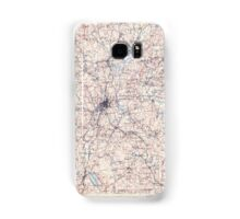 Massachusetts  USGS Historical Topo Map MA Quinsigamond 353210 1908 125000 Samsung Galaxy Case/Skin