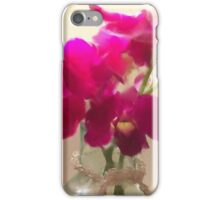Chrystal and Orchids iPhone Case/Skin