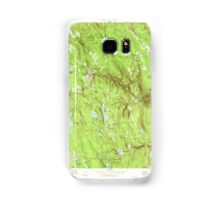 Massachusetts  USGS Historical Topo Map MA Becket 350840 1973 25000 Samsung Galaxy Case/Skin