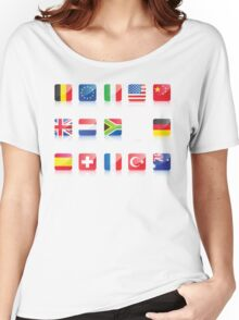 Flags Women's Relaxed Fit T-Shirt