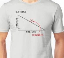 Find X Funny T-Shirt & Hoodies Unisex T-Shirt