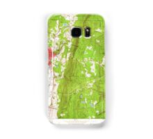 Massachusetts  USGS Historical Topo Map MA North Adams 350381 1960 24000 Samsung Galaxy Case/Skin